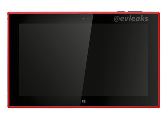 Nokia Tablet Vermelho