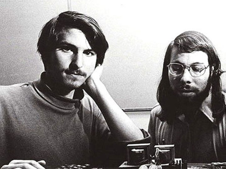 Steve Wozniak e Steve Jobs o futuro é Mac