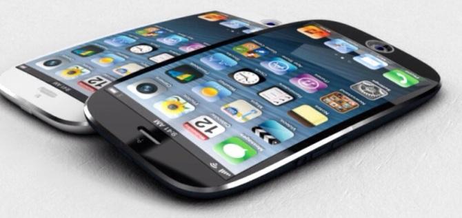 iPhone ecrã curvo