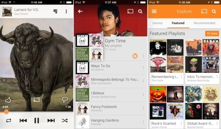 Google Music Play o futuro e mac