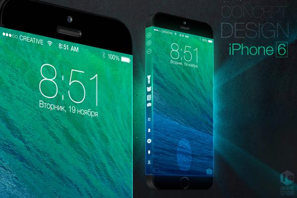 iPhone 6 conceito ecra 3 lados o futuroe e mac 2