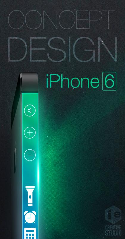 iPhone 6 conceito ecra 3 lados o futuroe e mac
