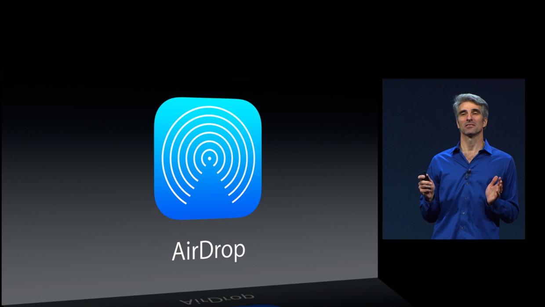 iOS 7 AirDrop o futuro é mac