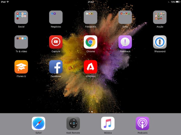 Ambiente trabalho iOS 9 iOSEmus o futuro é mac