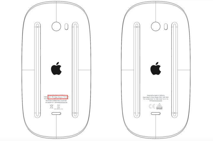 Novo Magic Mouse da Apple já foi registado na FCC
