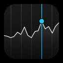 ícone stock acções o futuro é mac
