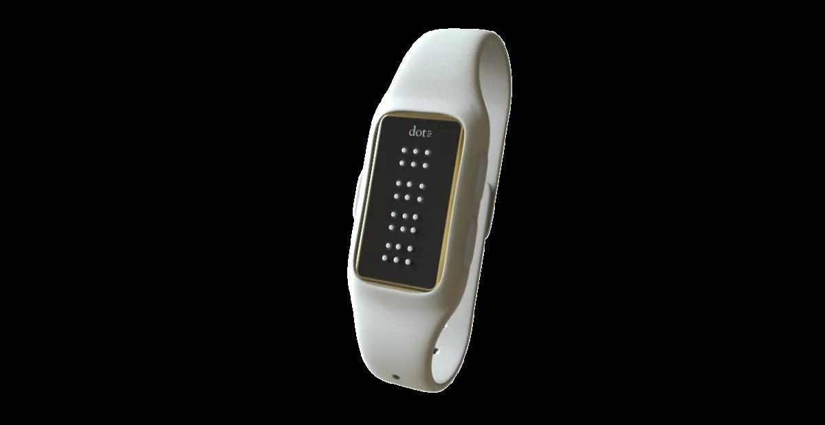 DOT relógio inteligente braille o futuro é mac