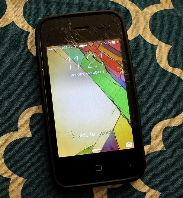 Iphone ecrã partido ideas o futuro é mac