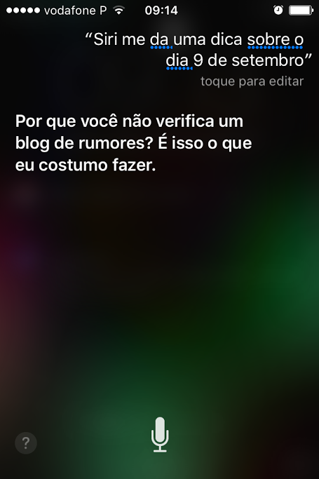 Siri uma dica sobre o dia 9 de Setembro o futuro é mac (1)