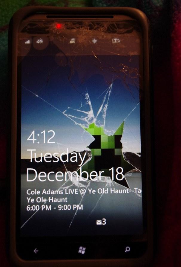 Windows phon ecrã partido o futuro é mac