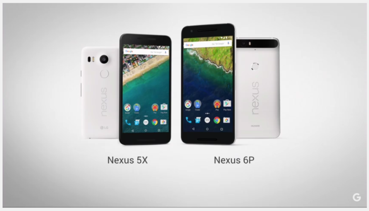 nexus 6p nexus 5x o futuro é mac Google
