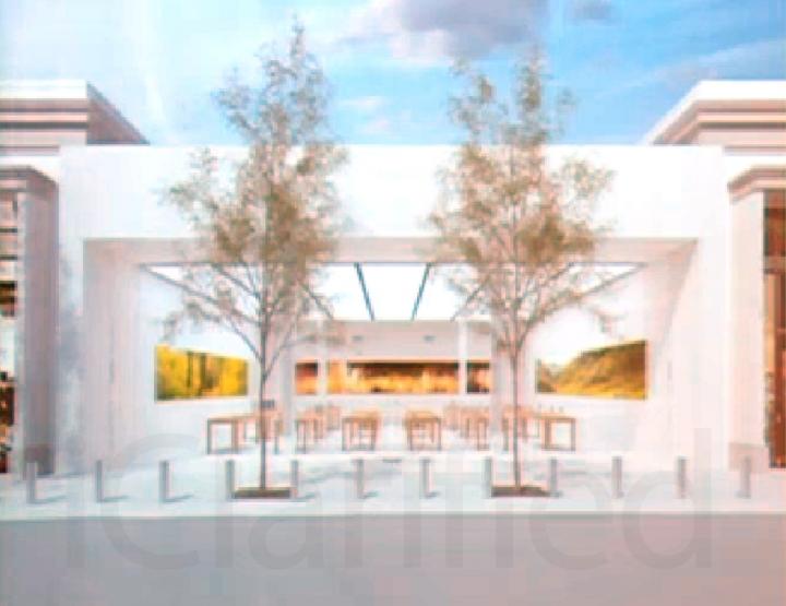 Esta é a ideia para as novas lojas da Apple muito minimalista