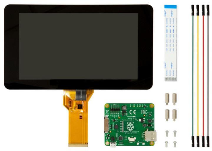 Ecrã touch 7 polegadas para raspberry o futuro é mac (1)