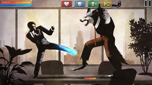 Uma das imagens do jogo The Executive que o fazem valer a pena