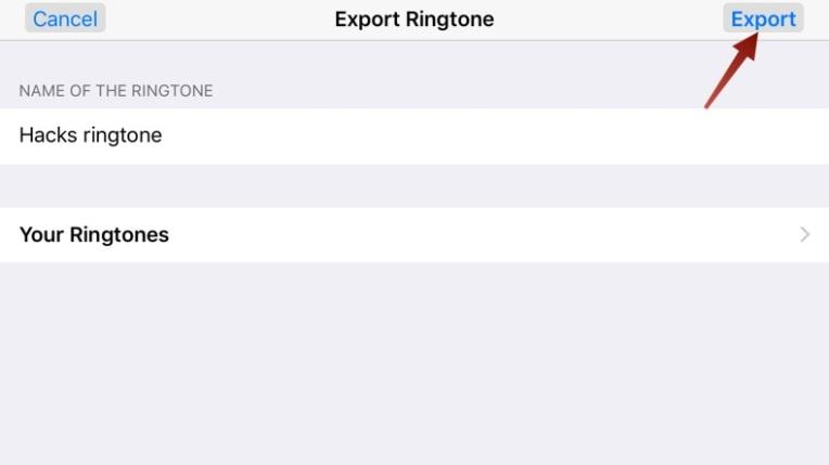 Exportar toque o futuro é mac