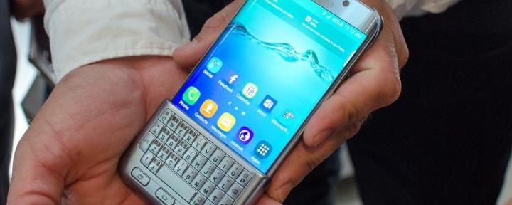 Galaxy S6 galaxy S7 teclado físico o futuro é mac