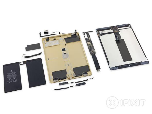 iPad Pro desmantelado interior iFixit o futuro é Mac (1)