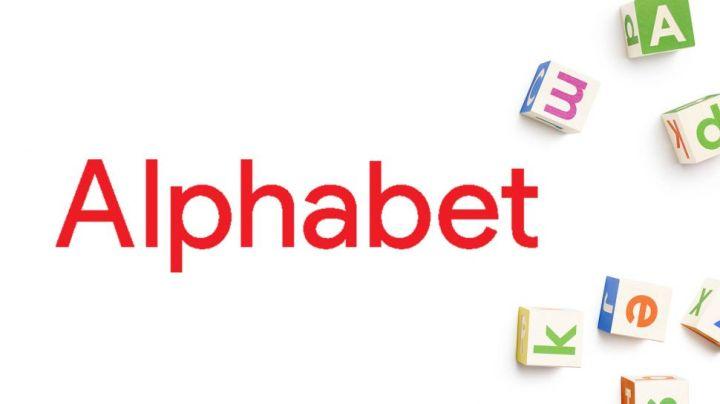alphabet logo o futuro é mac