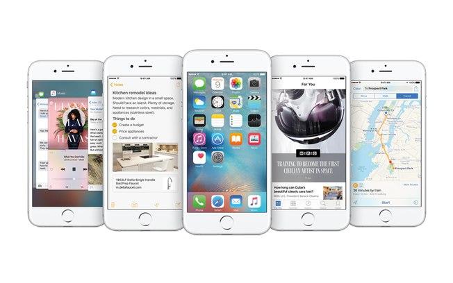 iOS 9 imagem o futuro é mac