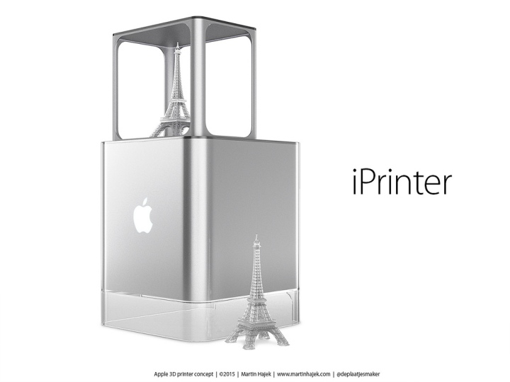 iPrinter impressora 3D Apple Apple Printer o futuro é mac (2)