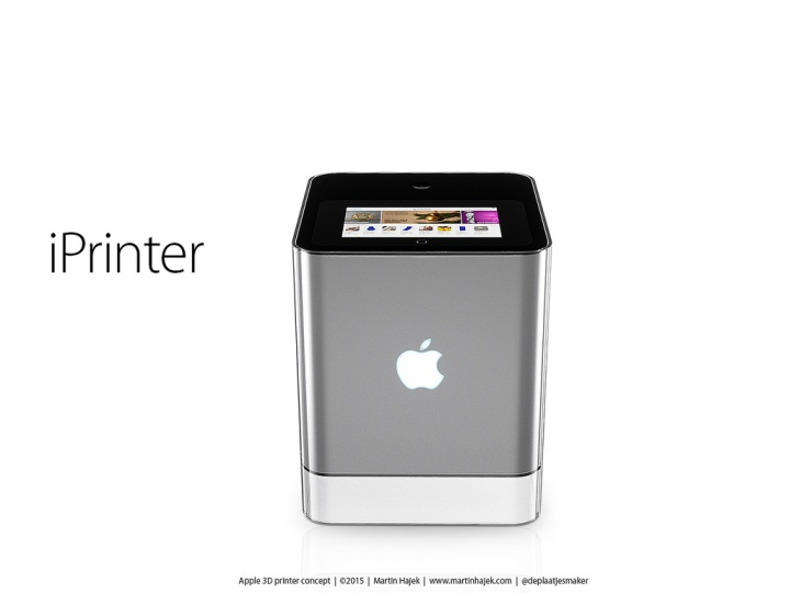 iPrinter impressora 3D Apple Apple Printer o futuro é mac (3)