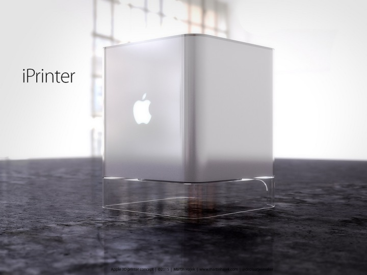 iPrinter impressora 3D Apple Apple Printer o futuro é mac (4)