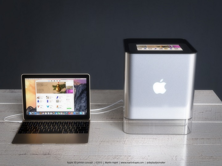 iPrinter impressora 3D Apple Apple Printer o futuro é mac (6)