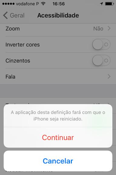 Reboot iPhone reiniciar o futuro é mac