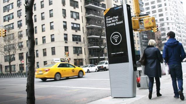 Cabine telefónica Nova York o futuro é mac