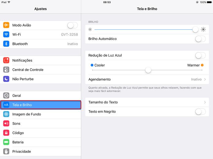 Como configurar o Night Shift no iOS