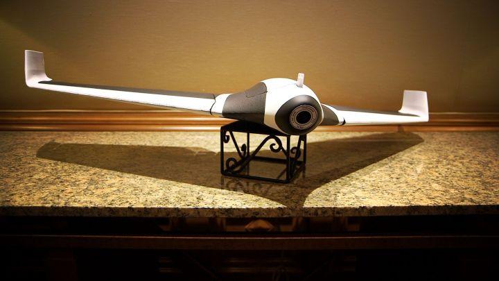 O formato pouco convencional para um Drone