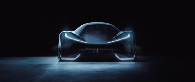 O protótipo FFZERO 1 da Faraday Future