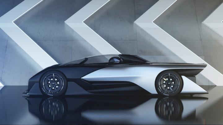 Faraday Future o Futuro é Mac FFZERO 1 carro inteligente carro do futuro Apple VPA Variable Plataform Architecture (1)