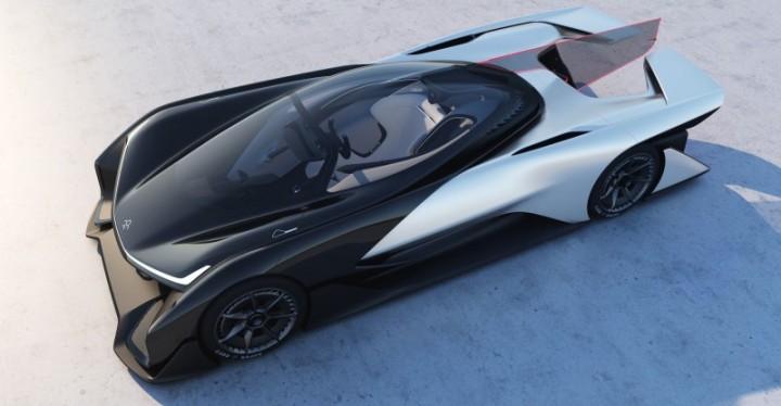 Faraday Future o Futuro é Mac FFZERO 1 carro inteligente carro do futuro Apple VPA Variable Plataform Architecture (2)