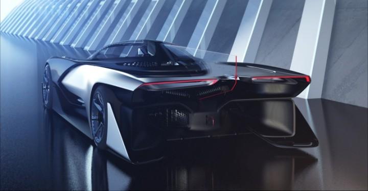 Faraday Future o Futuro é Mac FFZERO 1 carro inteligente carro do futuro Apple VPA Variable Plataform Architecture (3)