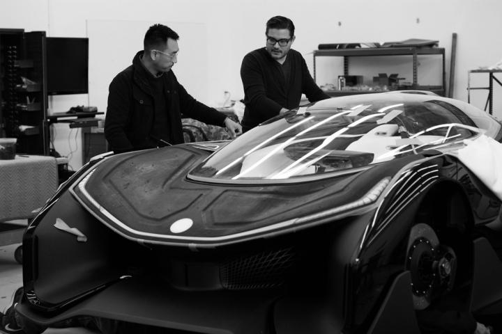 Faraday Future o Futuro é Mac FFZERO 1 carro inteligente carro do futuro Apple VPA Variable Plataform Architecture (6)
