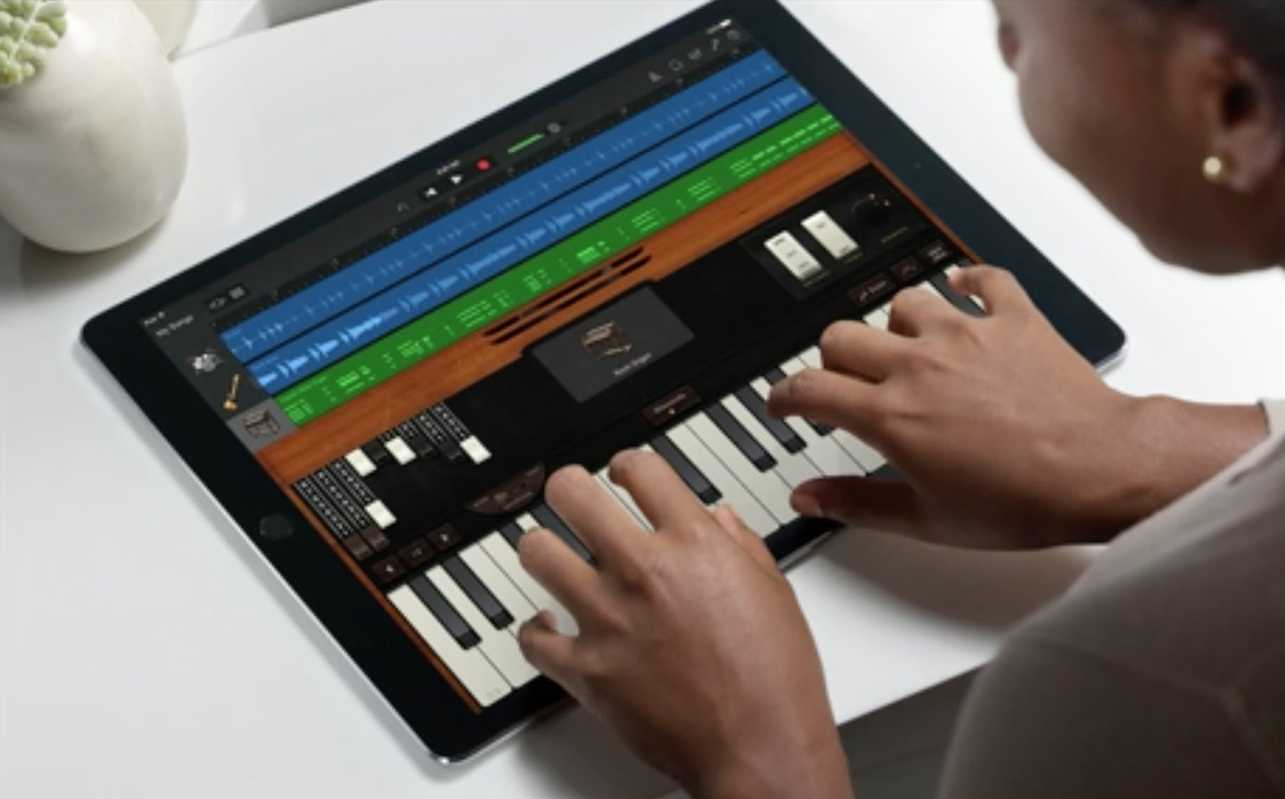 iPad Garage Band Pedro Topete Apple Blog Portugal