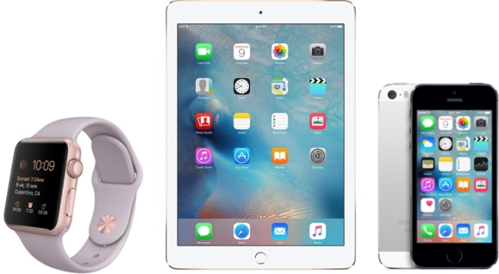 ipad watch iphone março 2016  o futuro é mac
