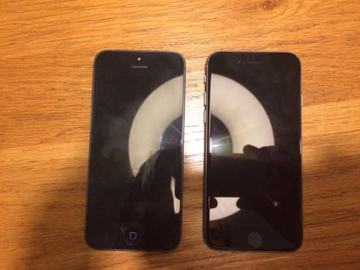 Iphone 5SE iphone 5 comparação imagem descrição o futuro é mac (1)