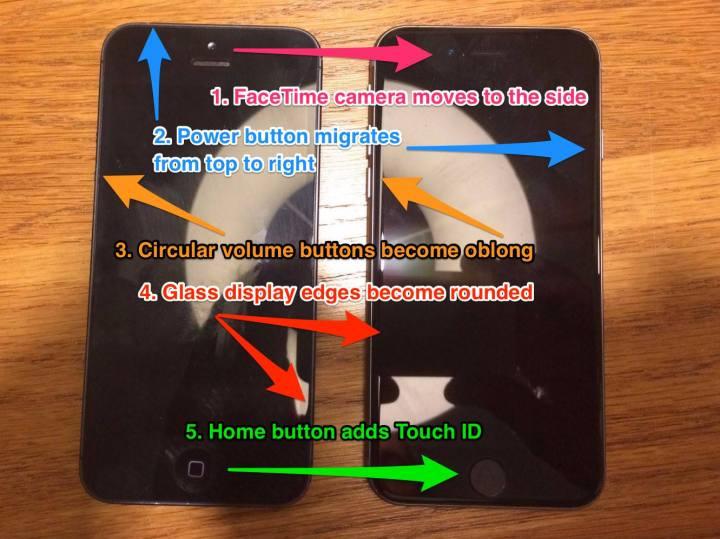 Iphone 5SE iphone 5 comparação imagem descrição o futuro é mac (2)