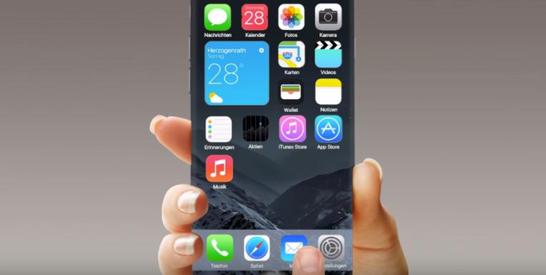 iPHone 7 ios 10 conceito o futuro é mac