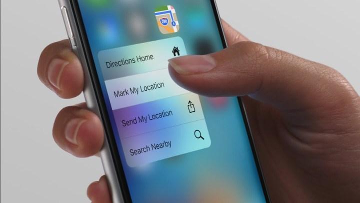 3D Touch iPhone 6S o futuro é mac