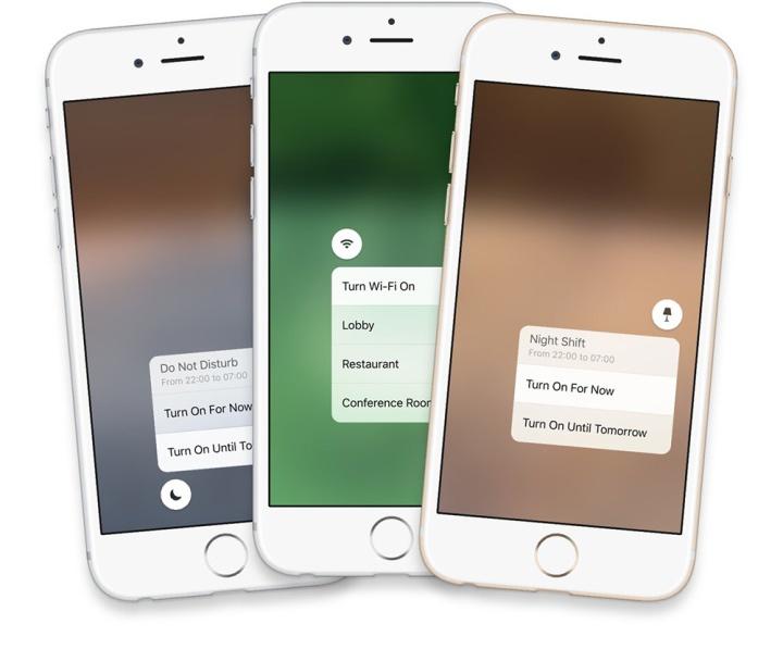 Conceito central de controlo iOS 10 o futuro é mac