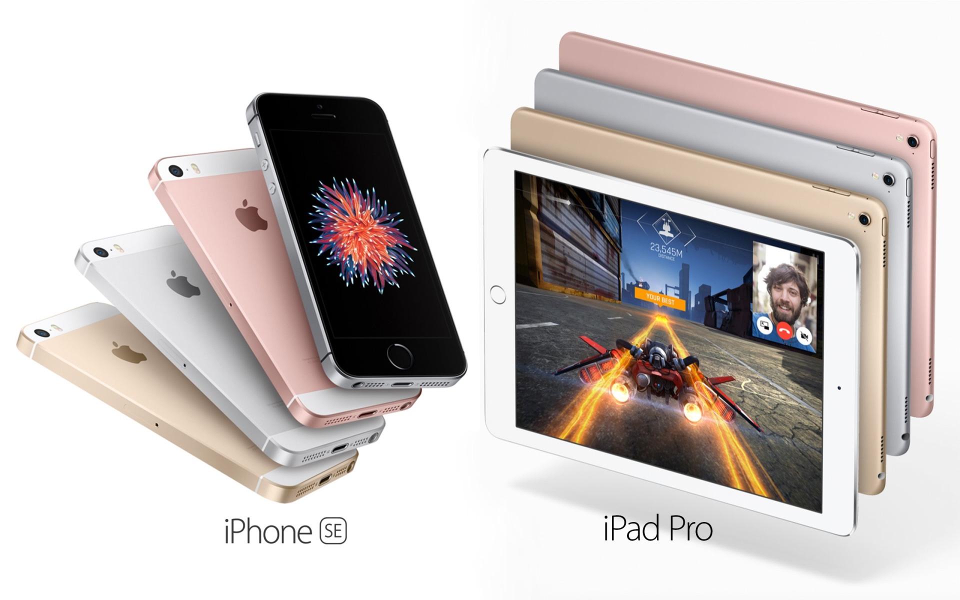 iPhone SE iPad Pro 9.7 o futuro é mac