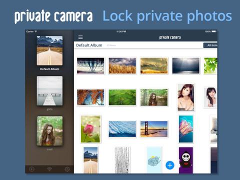Private Camera Pro ios O futuro é Mac