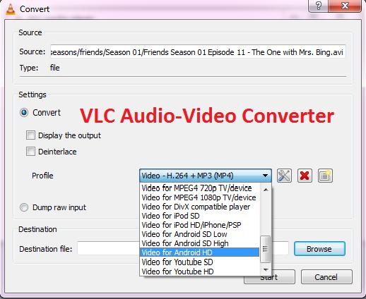 VLC Audio Video converter o futuro é mac