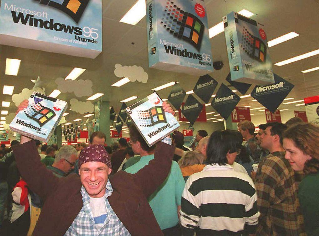 Windows 95 o futuro é mac