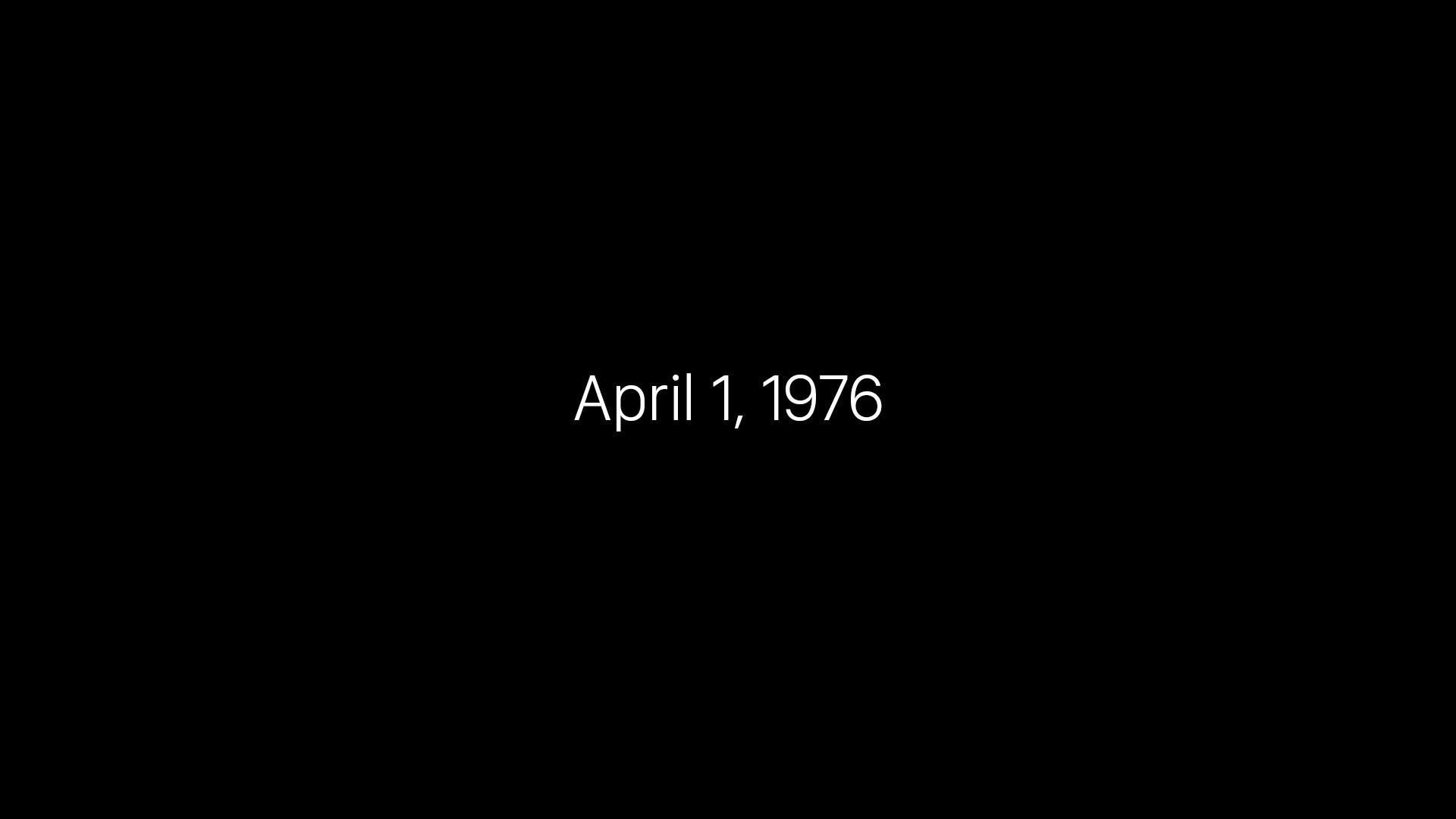 Apple 40 anos o futuro é mac