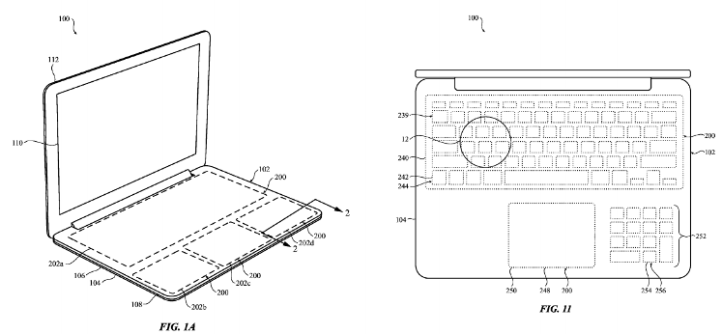 Apple Force Touch keyboard patent o futuro é mac