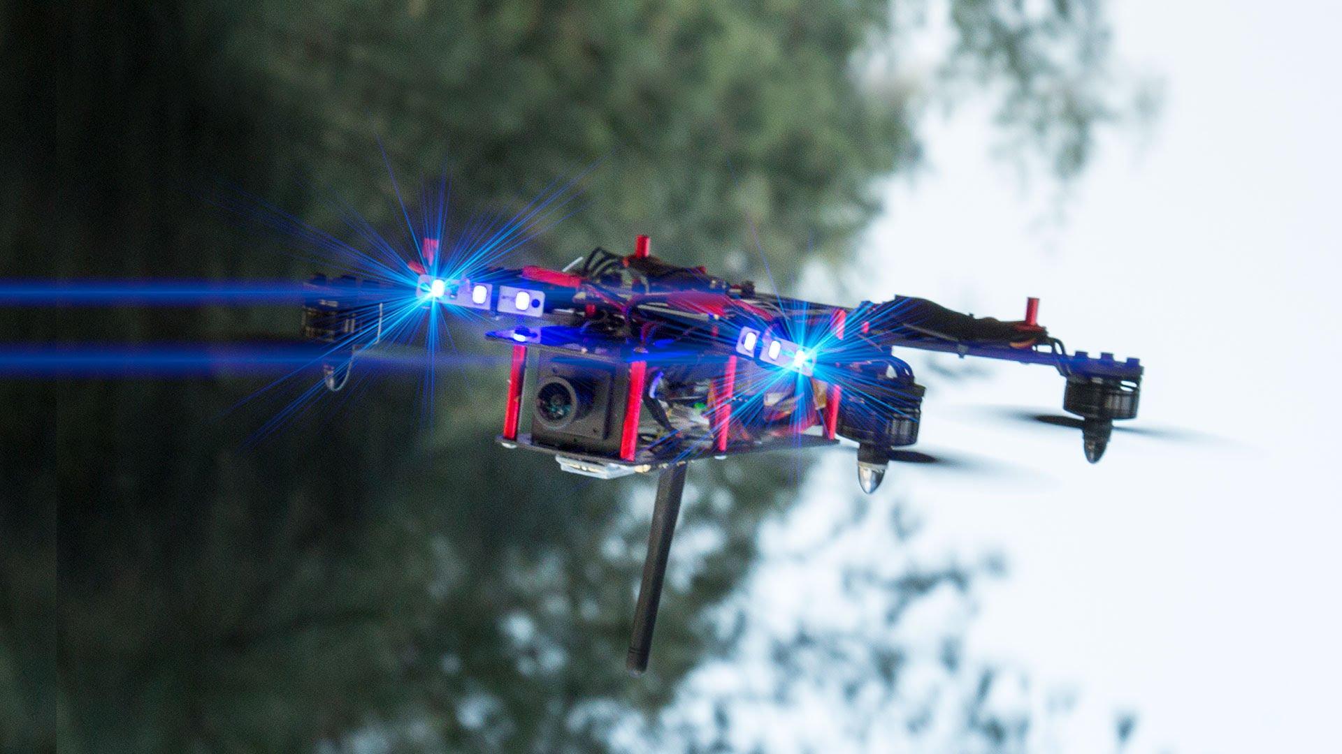 Corrida de drone ESPN o futuro é mac pedro topete
